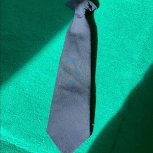 Navy Blue Boys Clip On Tie